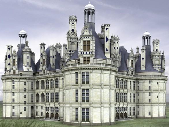 La renaissance fran aise xvie histoires de l 39 oeil for Architecture de la renaissance