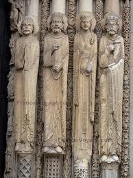 Façade occidentale de la cathédrale de Chartes, v. 1445.