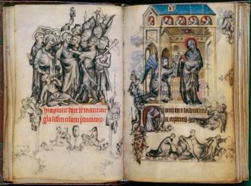Livre d'heures de Jeanne d'Evreux, v. 1325, Jean Pucelle